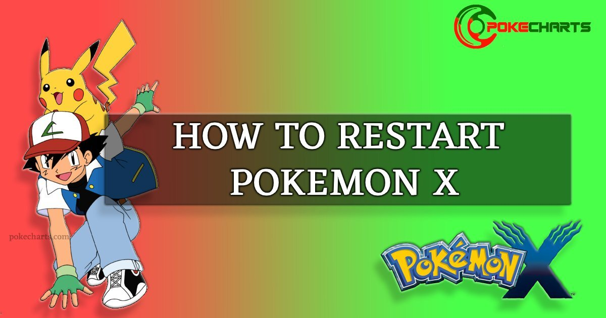 restart pokemon x